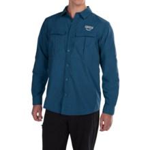 Columbia Sportswear Cascades Explorer Shirt - Omni-Shield®, UPF 30, Long Sleeve (For Men) in Marine Blue - Closeouts
