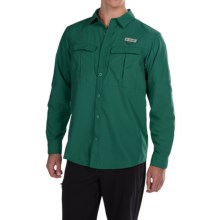 Columbia Sportswear Cascades Explorer Shirt - Omni-Shield®, UPF 30, Long Sleeve (For Men) in Pine Green - Closeouts