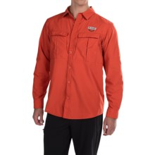 Columbia Sportswear Cascades Explorer Shirt - Omni-Shield®, UPF 30, Long Sleeve (For Men) in Super Sonic - Closeouts