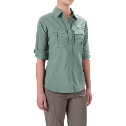 Columbia Sportswear Cascades Explorer Shirt - UPF 30, Long Sleeve (For Women) in Dusty Green - Closeouts