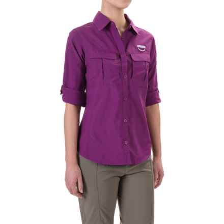 Columbia Sportswear Cascades Explorer Shirt - UPF 30, Long Sleeve (For Women) in Plum - Closeouts