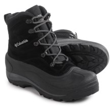 Columbia Sportswear Cascadian Summit II Boots - Insulated (For Men) in Black/Platinum - Closeouts