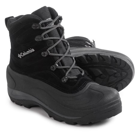 Columbia Sportswear Cascadian Summit II Boots - Insulated (For Men) in Black/Platinum