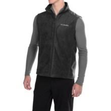Columbia Sportswear Cathedral Peak 2 Fleece Vest (For Men) in Black - Closeouts