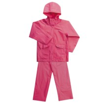 Columbia Sportswear Cats and Dogs Rain Suit - 2-Piece (For Kids) in Raspberry Sorbet - Closeouts