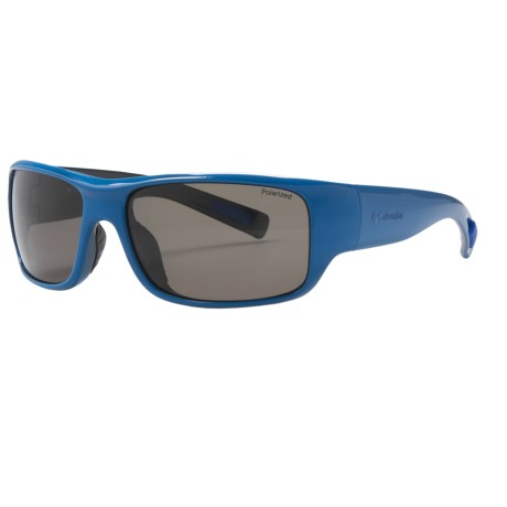 Columbia Sportswear Cazon Sunglasses - Polarized in Compass Blue/Black/Grey