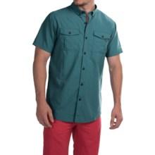 Columbia Sportswear Cedar Peak Performance Shirt - UPF 30, Short Sleeve (For Men) in Cloudburst - Closeouts