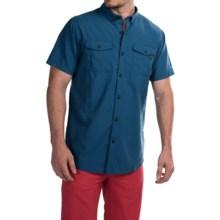 Columbia Sportswear Cedar Peak Performance Shirt - UPF 30, Short Sleeve (For Men) in Marine Blue - Closeouts
