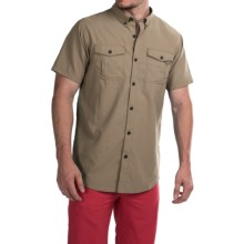 Columbia Sportswear Cedar Peak Performance Shirt - UPF 30, Short Sleeve (For Men) in Tusk - Closeouts