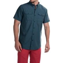 Columbia Sportswear Cedar Peak Performance Shirt - UPF 30, Short Sleeve (For Men) in Whale - Closeouts