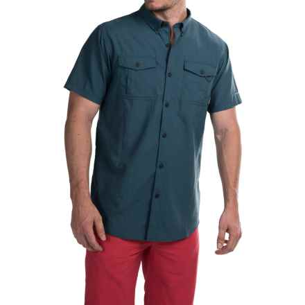 Columbia Sportswear Cedar Peak Performance Shirt - UPF 30, Short Sleeve (For Men) in Whale - Closeouts