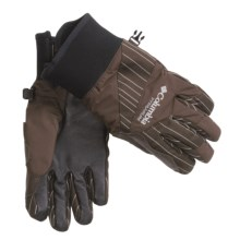 Columbia Sportswear Challenge Gloves - Waterproof, Insulated (For Women) in Bark Stripe - Closeouts