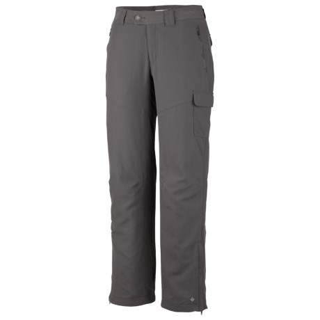 Columbia Sportswear Channel Lined Pants - Straight Leg (For Women) in Charcoal