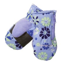 Columbia Sportswear Chippewa II Mittens - Insulated (For Infants) in Sweet Pea Print - Closeouts
