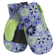 Columbia Sportswear Chippewa II Mittens - Insulated (For Toddlers) in Sweet Pea - Closeouts