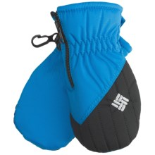 Columbia Sportswear Chippewa III Mittens - Insulated (For Infants) in Black/Compass Blue - Closeouts