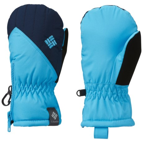 Columbia Sportswear Chippewa III Mittens - Insulated (For Kids) in Riptide