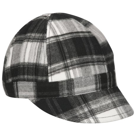 Columbia Sportswear City Blinge Visor Cap (For Women) in Oyster Plaid