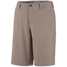 Columbia Sportswear City Dweller Shorts - UPF 50 (For Men) in Tusk Heather - Closeouts