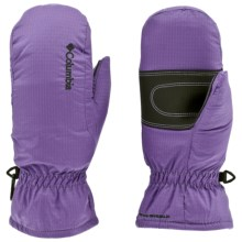 Columbia Sportswear City Trek Mittens - Insulated (For Kids) in Heliotrope - Closeouts