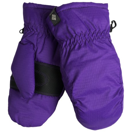 Columbia Sportswear City Trek Mittens - Insulated (For Kids) in Hyper Purple