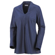 Columbia Sportswear Clear Coasts 30 Tunic Shirt - Long Sleeve (For Women) in Aristocrat/Corded Lawn - Closeouts