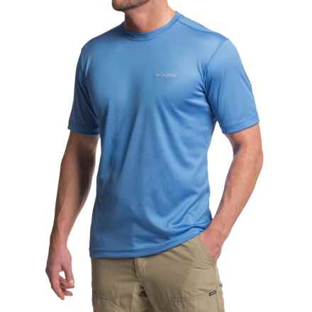 Columbia Sportswear Clear Creek Shirt - Short Sleeve (For Men) in Pacific Blue - Closeouts