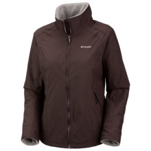 Columbia Sportswear Cliff Hanger Jacket (For Plus Size Women) in Stout - Closeouts