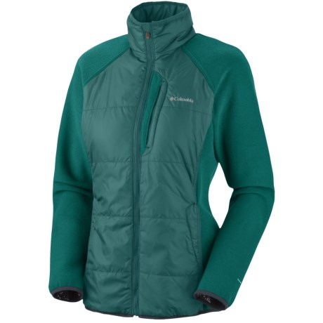 Columbia Sportswear Climate High Omni-Heat® Jacket - Full Zip (For Women) in Blue Forest
