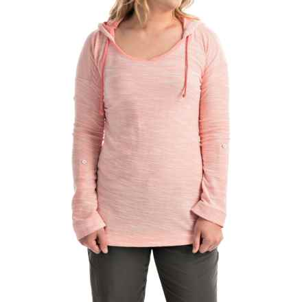 Columbia Sportswear Coastal Escape Hoodie (For Women) in Coral Bloom Heather - Closeouts