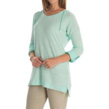Columbia Sportswear Coastal Escape Hoodie (For Women) in Ocean Water Heather - Closeouts