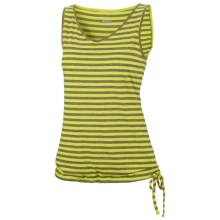 Columbia Sportswear Collective Soul Tank Top - V-Neck (For Women) in Chartreuse - Closeouts