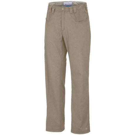 Columbia Sportswear Commuter Pants - UPF 50 (For Men) in Tusk