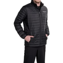 Columbia Sportswear Compactor Down Omni-Heat® Jacket - 800 Fill Power (For Men) in Black - Closeouts