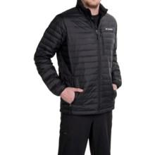 Columbia Sportswear Compactor Down Omni-Heat® Jacket - 800 Fill Power (For Men) in Black - Closeouts