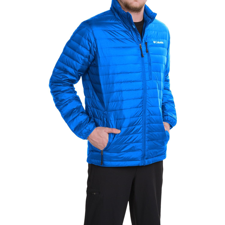 Columbia Sportswear Compactor Down Omni Heat 174 Jacket For Men