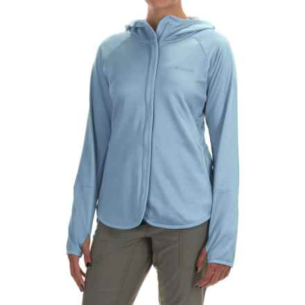 Columbia Sportswear Compass Point Hoodie - Omni-Wick®, Full Zip (For Women) in Beacon Heather - Closeouts