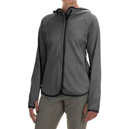 Columbia Sportswear Compass Point Hoodie - Omni-Wick®, Full Zip (For Women) in Black Heather - Closeouts
