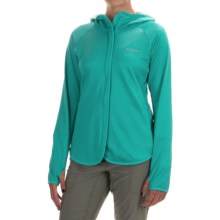 Columbia Sportswear Compass Point Hoodie - Omni-Wick®, Full Zip (For Women) in Miami Heather - Closeouts