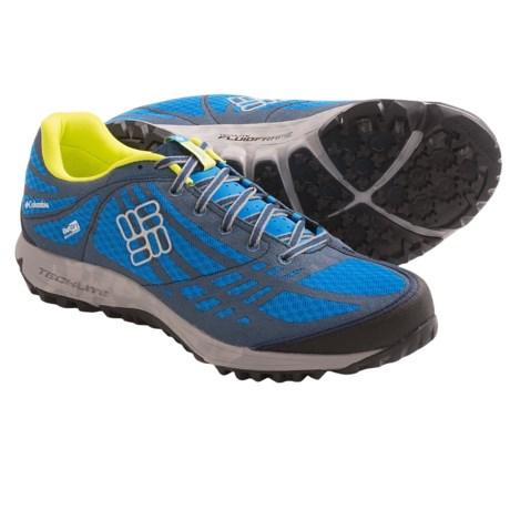 Columbia Sportswear Conspiracy II OutDry® Trail Shoes - Waterproof (For Men) in Platinum/Autumn Orange