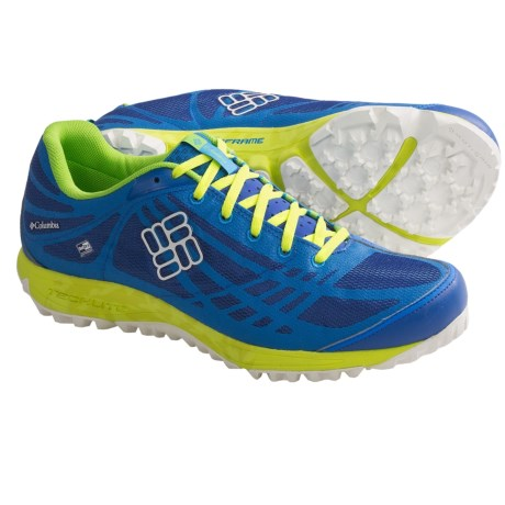 Columbia Sportswear Conspiracy OutDry® Trail Shoes - Waterproof (For Men) in Compass Blue/Sea Salt