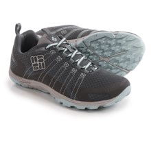 Columbia Sportswear Conspiracy Vapor TechLite® Trail Shoes (For Women) in Charcoal/Platinum - Closeouts