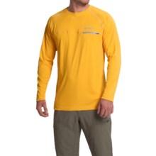 Columbia Sportswear Cool Catch Tech Zero Shirt - Omni-Freeze® ZERO, UPF 50, Long Sleeve (For Men) in Stinger - Closeouts