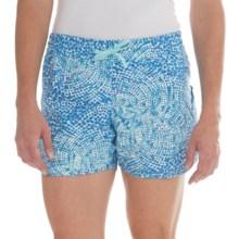 Columbia Sportswear Cool Coast Omni-Shield® Shorts - UPF 50 (For Women) in Candy Mint Print - Closeouts