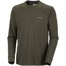Columbia Sportswear Cool Creek Crew Shirt - UPF 30, Long Sleeve (For Men) in Gravel - Closeouts