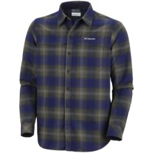 Columbia Sportswear Cool Creek Plaid Shirt - UPF 50, Long Sleeve (For Men) in Aristocrat - Closeouts