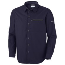 Columbia Sportswear Cool Creek Shirt - UPF 50, Long Sleeve (For Men) in Ebony Blue - Closeouts