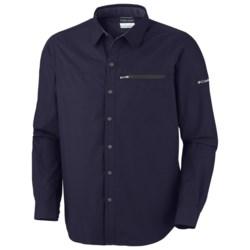 Columbia Sportswear Cool Creek Shirt - UPF 50, Long Sleeve (For Men) in Ebony Blue