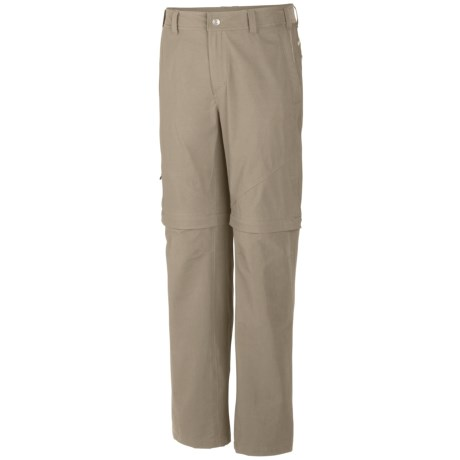 Columbia Sportswear Cool Creek Stretch Convertible Pants - UPF 50 (For Men) in Gravel
