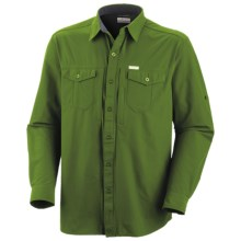 Columbia Sportswear Cool Creek Stretch Shirt - UPF 15, Long Sleeve (For Men) in Palm - Closeouts